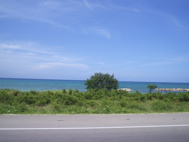 From the car - Ocho Rios