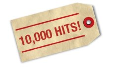 10,000 hits